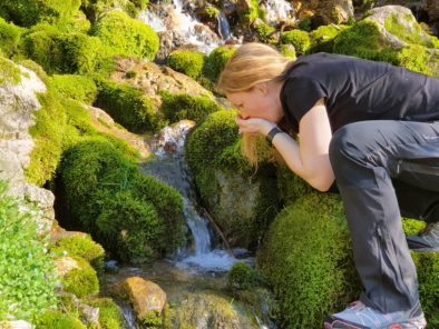 Dringking Spring water Slovenia