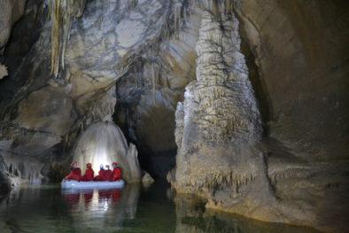 Cave visit, Enjoy Slovenia