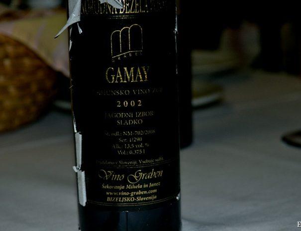 Gamay 2002, Vino Graben, Fine Slovenian Wine