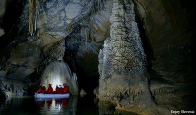 Cave visit Slovenia