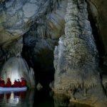 Cave visit, Slovenia