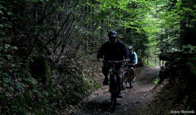 Moutain biking Slovenia