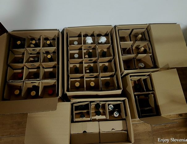 Shippment of wine to USA