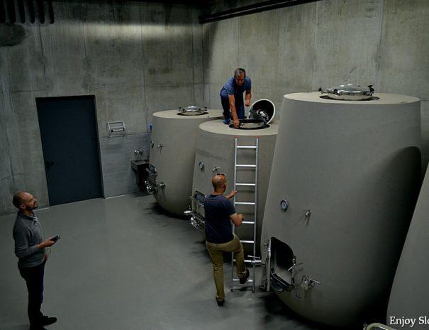 WIne cellar visit Slovenia