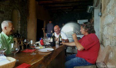 Wine tasting Slovenia