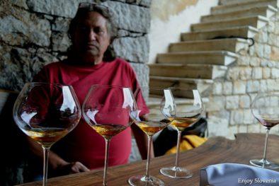 Wine tasting experience Slovenia